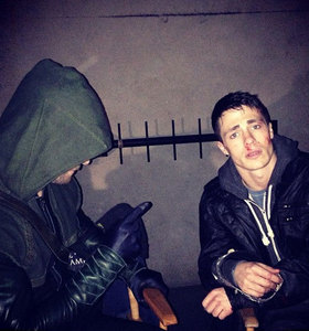 ColtonH Haynes and Stephen Amell!