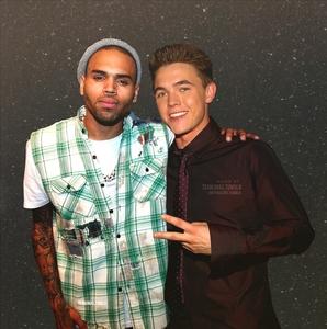 Jesse Mccartney and Chris Brown!