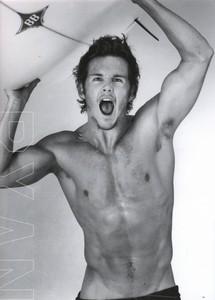 Ryan Kwanten shirtless <3