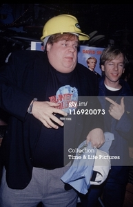 David bêche with Chris Farley
