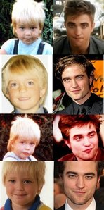my handsome Robert then and now<3