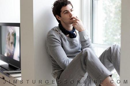 Jim Sturgess in a room