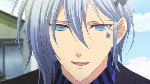 The guys from Amnesia have some crazy sexy eyes. This is Ikki from there but all the other guys also have some cool colors.