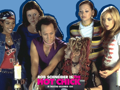 Rob Schneider from The Hot Chick, which Matthew is in :)