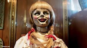 the conjuring because It scariest my brother and the fuckin doll scaried me bad and the doll is creepy