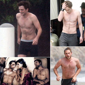 my sexy shirtless Robert<3