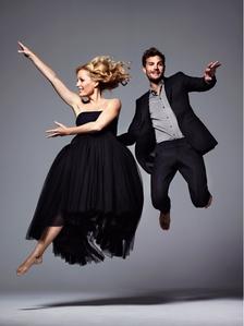 Jamie Dornan with his co-star,Gillian Anderson<3