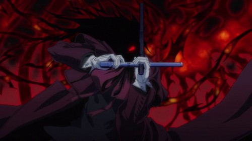 Alucard is a vampire