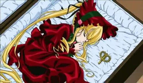 Shinku from Rozen Maiden is a doll.
