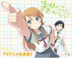 Hentai ouji to warawanai neko has comedy and romance, so does oreimo...