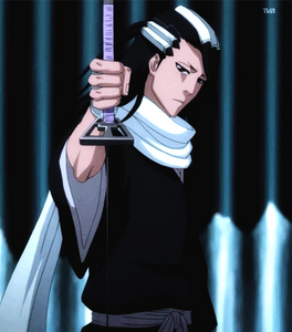 Byakuya Kuchiki (Bleach) Byakuya wears a white scarf, which is woven bởi the master weaver Tsujishirō Kuroemon III. The scarf is made from silver-white, windflower light silk and is a family heirloom, having been handed down from generation to generation and được trao to each head of the Kuchiki Clan. The scarf alone is worth ten mansions in the Seireitei.......its that expensive........he he he he he