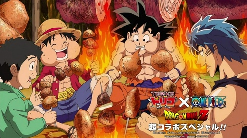 Luffy (One Piece), Goku (Dragonball Z), and Toriko. One thing they all have in common is their HUGE appetite and they all tình yêu to eat too. Another thing they have in common is they are all great and powerful fighters