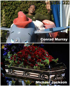 """Conrad Murray's stories about MJ (that he's actually not allowed to tell, as he was employed as his doctor, and not his """"friend""""), are not reliable, it's proven that he's a compulsive liar. His behaviour is disgusting! The judge sinabi he's dangerous, and with good reason, Murray seems psychopathic, with criminal, amoral behavior without empathy or remorse. He should NOT be a free man. MJ's estate should sue him, as they now have threatened to do, so that he ends up where he belongs, behind bars. And to be absolutely sure that he's not able to hurt anyone (eg MJ's children) anymore, they ought to forbid him to ilathala any phone recordings the susunod time he's in jail."""