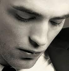 my gorgeous Robert's eyelids and eyelashes<3