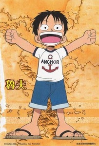 Monkey D.Luffy(One Piece)
