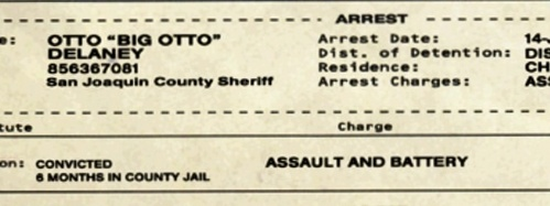 Ottos original charge was Assault and battery