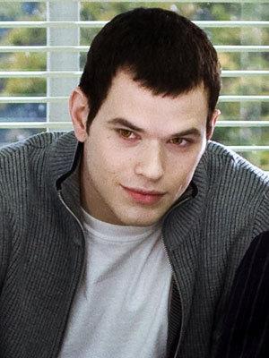 Kellan as Emmett Cullen with black hair<3