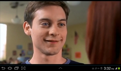 Tobey and his adorable smile! !!!