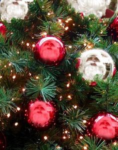My Santa Matt on the ornaments :)