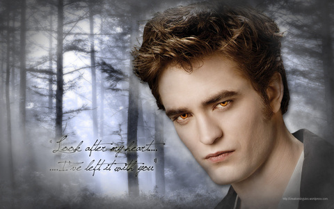 my sexy Robward with trees<3