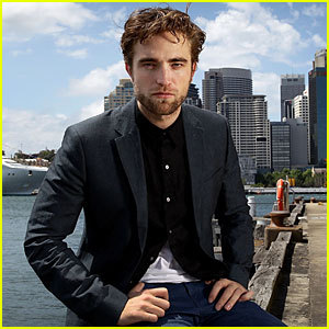 my gorgeous Robert with blue sky<3