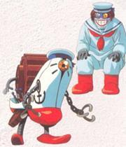 Pinchernone from GaoGaiGar! His laugh and 디자인 gives me NIGHTMARES!!!