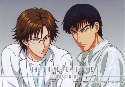 Kunimitsu Tezuka and Genichirou Sanada from Prince of quần vợt really have deep and strong voices...