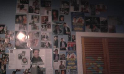 My mural has completely changed since this but this was it at the start... Now its completely covered of John Barrowman.