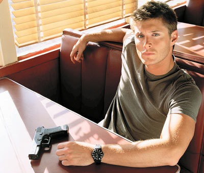 Jensen Ackles with shadows all over him <3