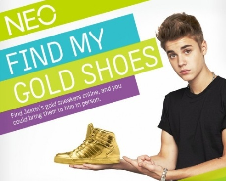 Justin advertising for NEO
