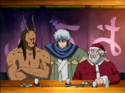 i tình yêu holiday episodes.......he ehe he when i watch holiday episdes i feel it thêm like a treat for our holiday.......just like this Gintama episode ...its thêm like a treat for Christmas.....he he he eheh