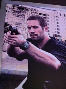 Paul wearing a watch<3