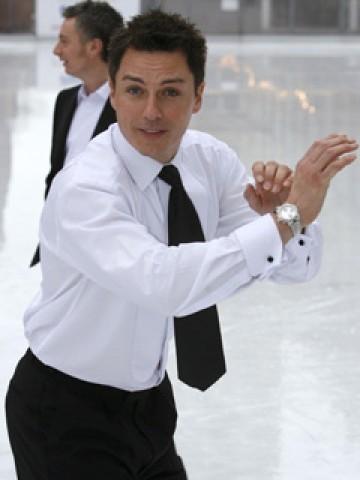 My baby on Dancing On Ice!