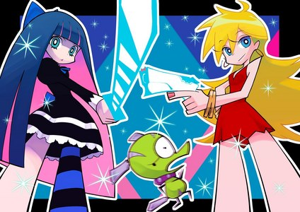 Panty and Stocking, can't get thêm perverted than that!
