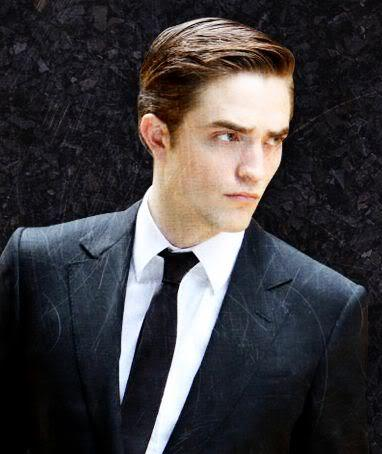 Robert with shiny,sexy hair<3