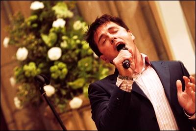 John singing!