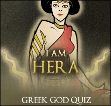 I am Hera Hera is the Goddess of Marriage. She is often concerned with her relationship with her husband Zeus and seeks social prestige. For this reason, she is often depicted with a peacock, a symbol of pride. Like Hera, wewe can be proud, as well as traditional in your values. However, wewe are also very protective of the ones wewe upendo and will do anything to get your family the best. Well.