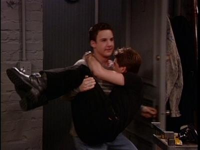 Ben Savage holding Matt!! XD