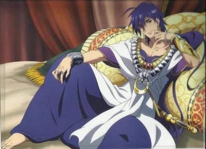 Sinbad from magi! :)