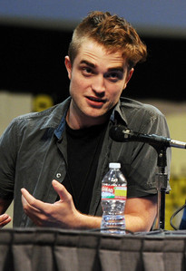 """my sweetie at the 2011 Comic Con with a face that says """"really?""""<3"""