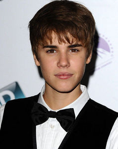 the Biebs in a bowtie<3