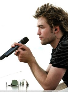my handsome baby with a microphone<3