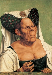 How about an old grotesque hag?
