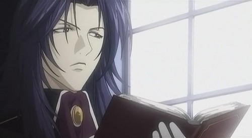Ludwig from Meine Liebe reads quite a bit.