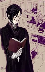It's tutor Bassy~! *fangirling* Grell...no...calm down...