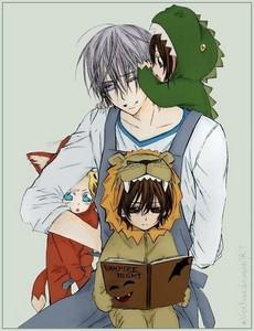 Kaname's 읽기 a book :3