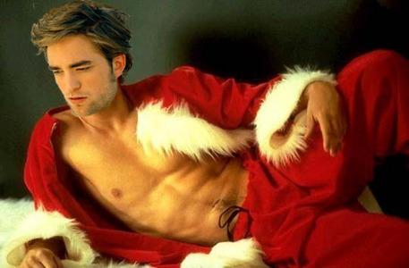 my sexy Rob Santa<3