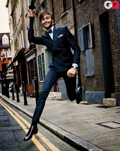 Douglas Booth has great style!