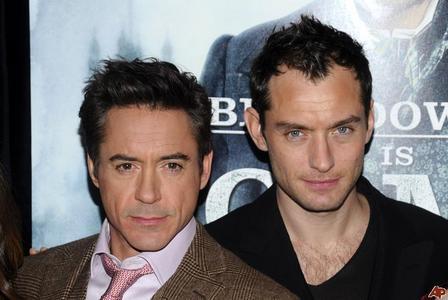 RDJ (American) and Jude Law (British)
