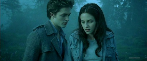 Robert and Kristen in a scene from Twilight<3